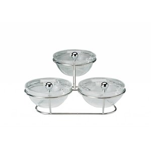 APS Buffet Stand Little | 2 Traps Tray | 30x30x14cm
