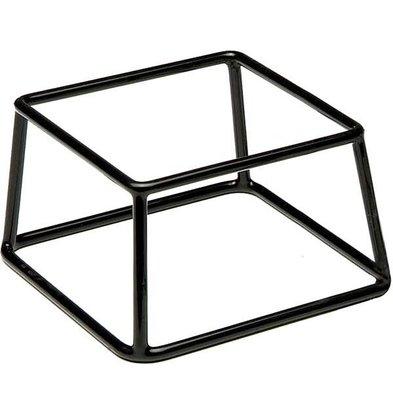 APS Buffet Ständer Multi | Metal mit Antirutschschicht | Stapelbar | 18x18x (H) 10cm