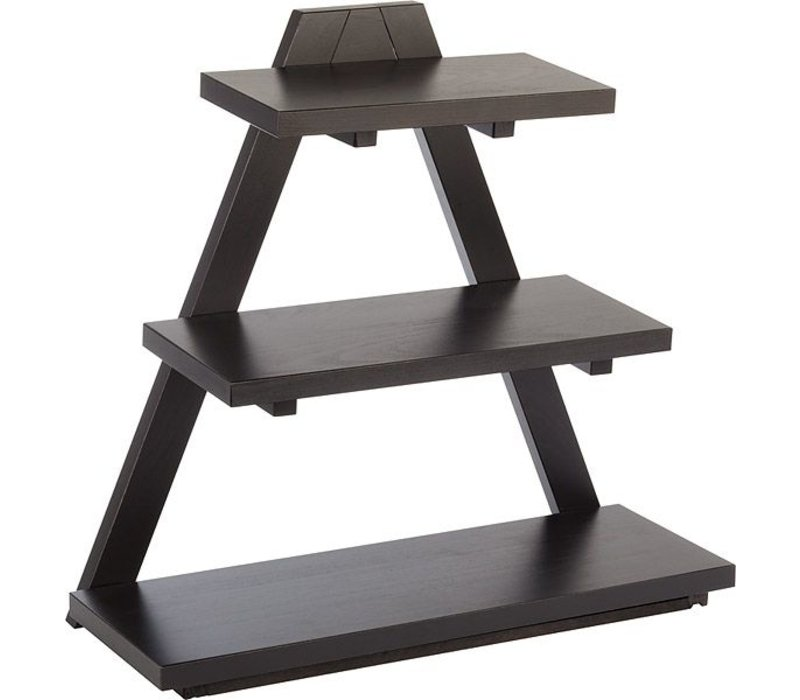 APS Buffet Stand Triangle | 53x21x(H)50cm