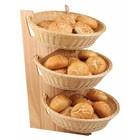 APS Buffet Stander 3 Traps | wood | 59x30,5x2cm