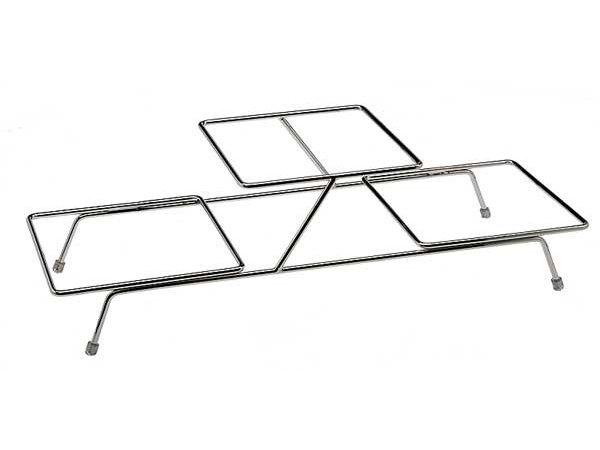 APS Buffet Rahmen Float Klein | Verchromtem Metall | 3 Waagen | 55,5x19x (H) 15,5cm