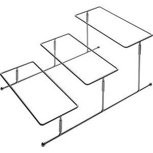 APS Buffet Frame Pure | Chromed Metal | 45,5x32x (H) 21.5cm