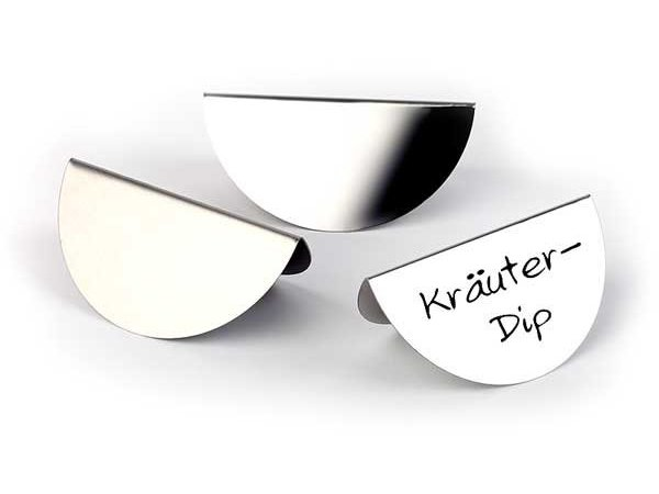 APS Pictures stainless steel buffet, 13x7cm - Price per 3 pieces