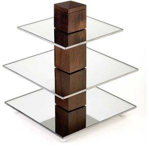 APS Buffet-Turm | Birkenholz | 25x25x (H) von 30,5 cm