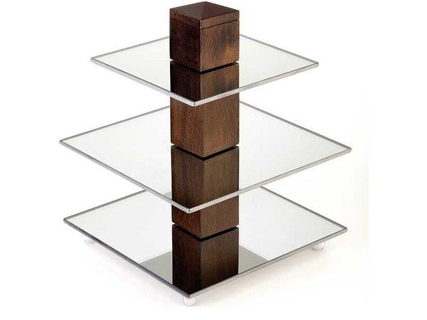 APS Buffet Tower | Hout Berken | 25x25x(H)30,5cm