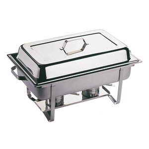 APS Chafing Dish Economic Twin | RVS | 610x360x(H)300mm