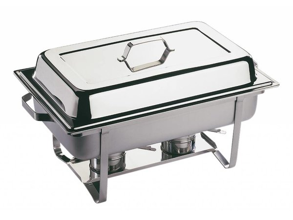APS Chafing Dish Economic Twin   RVS   610x360x(H)300mm