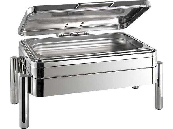APS Chafing Dish | GN 1/1 | Premium | Edelstahl | 9 Liter | 660x480x (H) 330mm