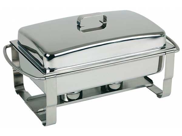 APS Chafing Dish Caterer | Edelstahl | 9 Liter | 670x350x (H) 350mm
