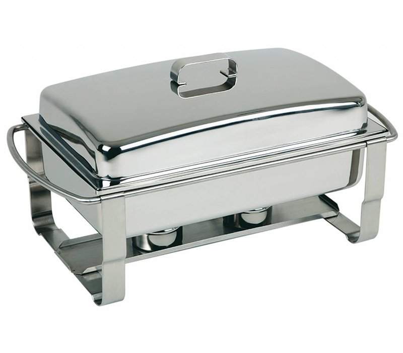 APS Chafing Dish Caterer | Stainless steel | 9 Liter | 670x350x (H) 350mm