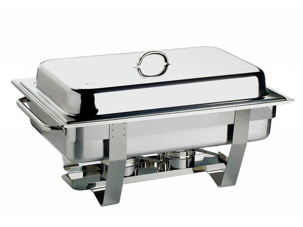 APS Chafing Dish Chef | Stainless steel | 1 / 1GN | 9 Liter | 610x310mm