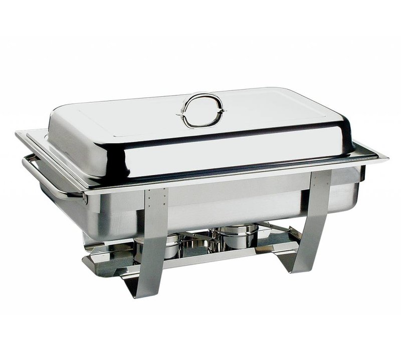 APS Chafing Dish Chef | Edelstahl | 1 / 1GN | 9 Liter | 610x310mm