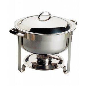 APS Chafing Dish Chef | Edelstahl | 7,5 Liter | Rund Ø340x (H) 340 mm