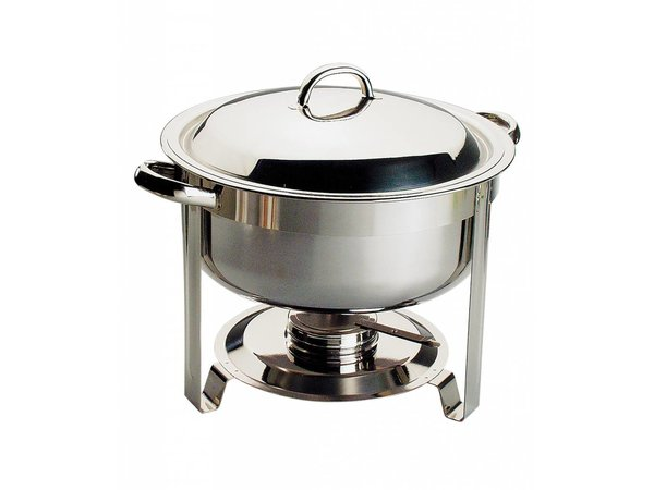 APS Chafing Dish Chef | RVS | 7,5 Liter | Rond Ø340x(H)340mm