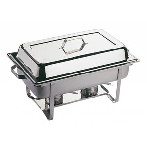 APS Chafing Dish Economic | RVS | 1/1GN | 9 Liter | 610x360x(H)300mm