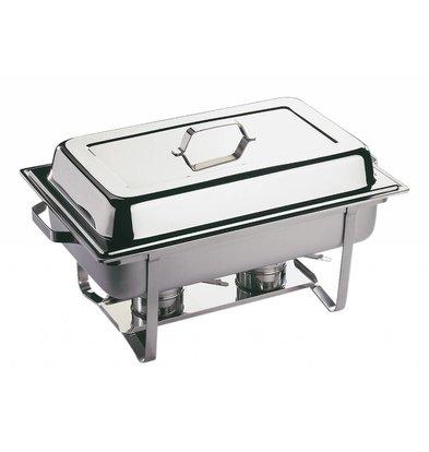 APS Chafing Dish Economic   RVS   1/1GN   9 Liter   610x360x(H)300mm