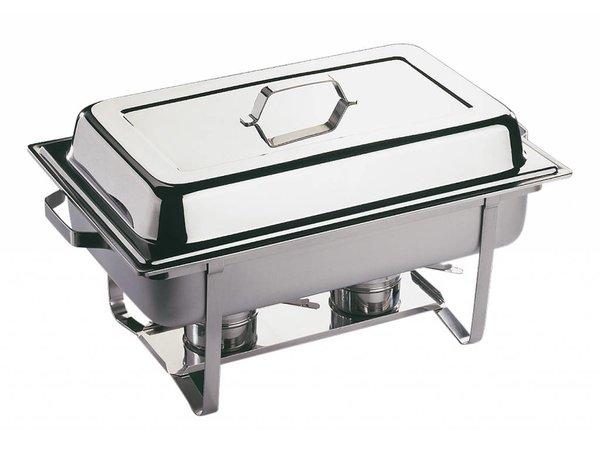 APS Chafing Dish Economic | RVS | 1/1GN | 9 Liter | 610x360x(H)300mm