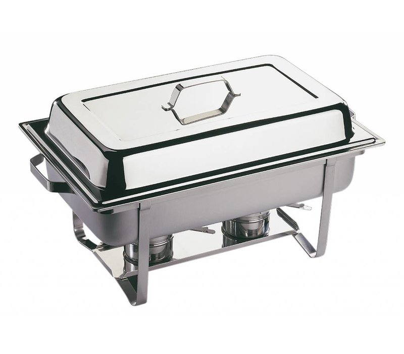 APS Chafing Dish Wirtschafts | Edelstahl | 1 / 1GN | 9 Liter | 610x360x (H) 300mm