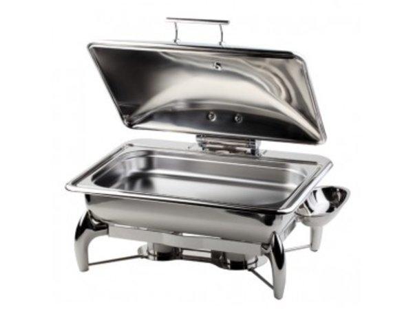 APS Chafing Dish | Globe | GN 1/1 | RVS | 9 Liter | 580x440x(H)325mm