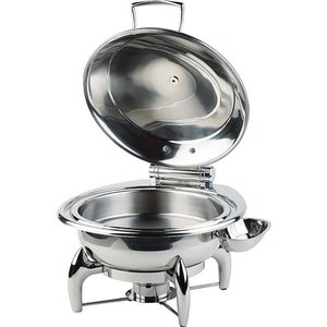 APS Chafing Dish Round   SS Cover   Including Frame
