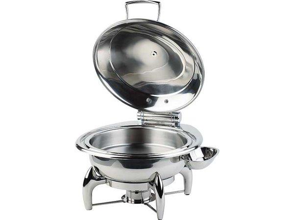 APS Chafing Dish Round | SS-Abdeckung | Einschließlich Rahmen