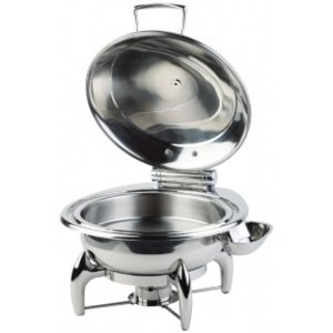 APS Chafing Dish Rond | Roestvrijstalen Deksel | Inclusief Frame