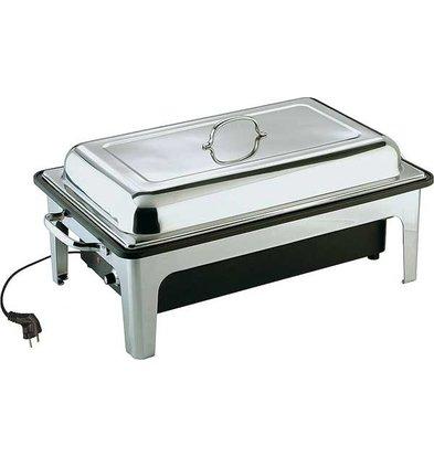 APS Chafing Dish Sunnex | 1 / 1GN | Edelstahl | 9 Liter | 630x360x (H) 290mm