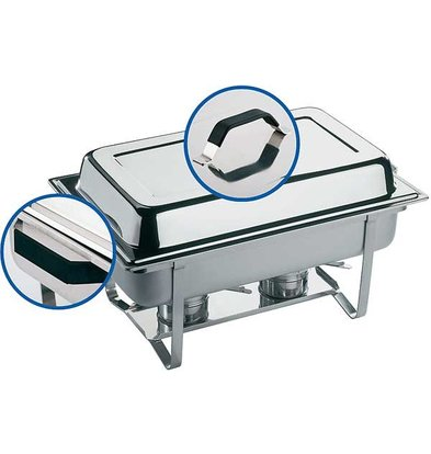 APS Chafing Dish Thermo   RVS   9 Liter   610x360x(H)300mm