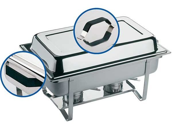 APS Chafing Dish Thermo | Edelstahl | 9 Liter | 610x360x (H) 300mm