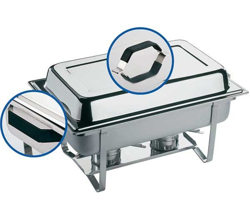 APS Chafing Dish Thermo | RVS | 9 Liter | 610x360x(H)300mm
