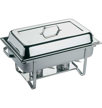 APS Chafing Dish Trio | Stainless steel | 610x360x (H) 290mm
