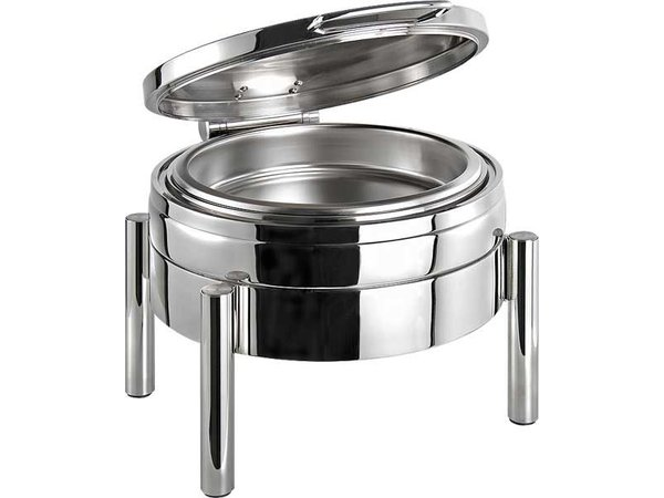APS Chafing Dish Round | Premium | Stainless steel | 440x540x (H) 330mm