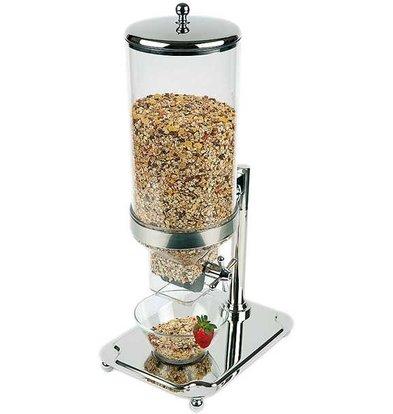APS Cereal Dispenser Klassiker | Edelstahl | Inhalt 8 Liter | 350x265x (H) 680mm