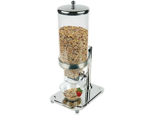 APS Cereal Dispenser Classic | Stainless steel | Contents 8 Liter | 350x265x (H) 680mm