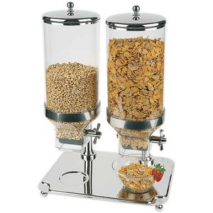 APS Cereal Dispenser Klassiker | Inhalt 2x8 Liter | 350x500mm, Höhe 680mm