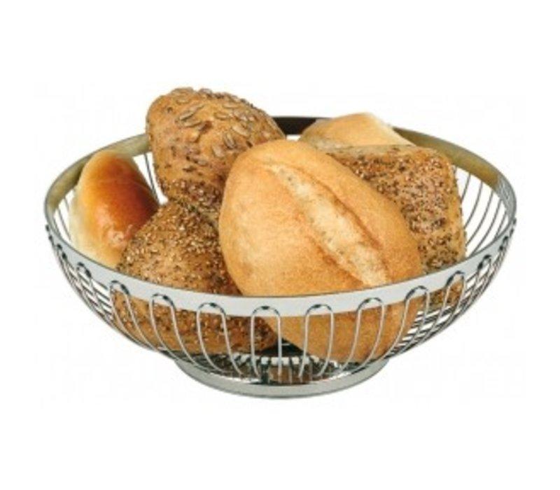 APS Bread Basket Oval Edelstahl - 200x (H) 150 mm