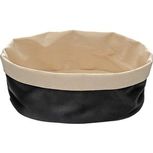 APS Broodtas Oval - Black / Beige - 250x180x (h) 90mm