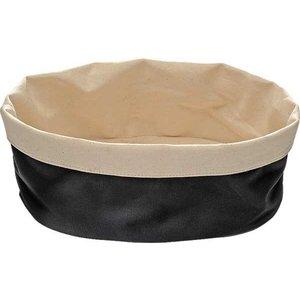 APS Broodtas Oval - Black / Beige - 250x180x (h) 90mm