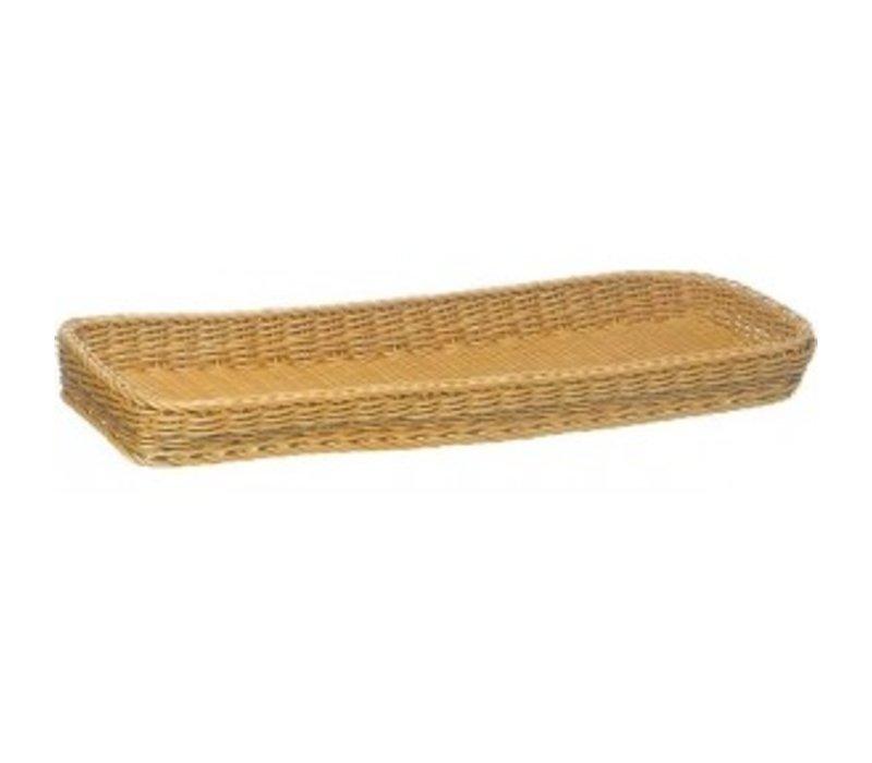 APS Plastic Bread Basket - 400x300x (h) 50mm