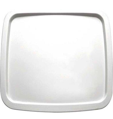 APS Presentation Scale | Melamine White | Dishwasher-safe | 250x250 mm