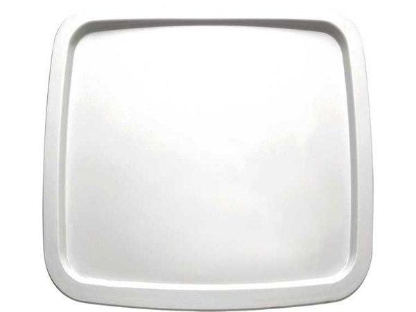 APS Presentation Scale   Melamine White   Dishwasher-safe   250x250 mm