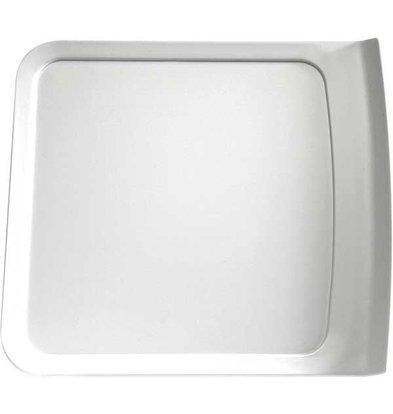 APS Presentation Scale | Melamine White | Dishwasher-safe | 250x280 (h) 24 mm