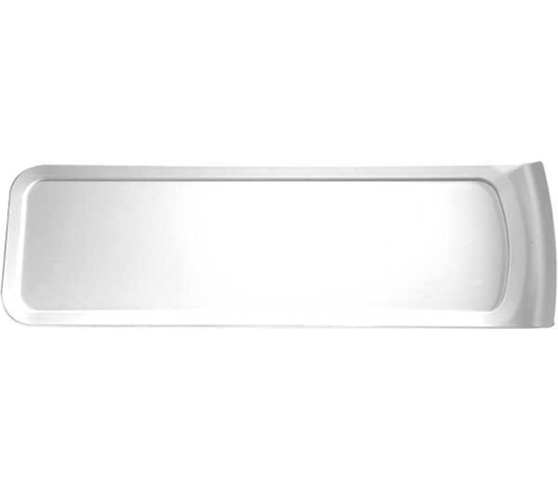 APS Scale - CASCADE - Dishwasher safe - Melamine White - 520x160x (h) 24 mm