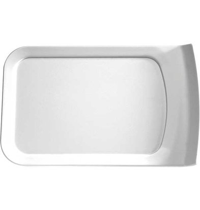 APS Scale Cascade | Rectangle | Melamine White | 260x160x (H) 24mm