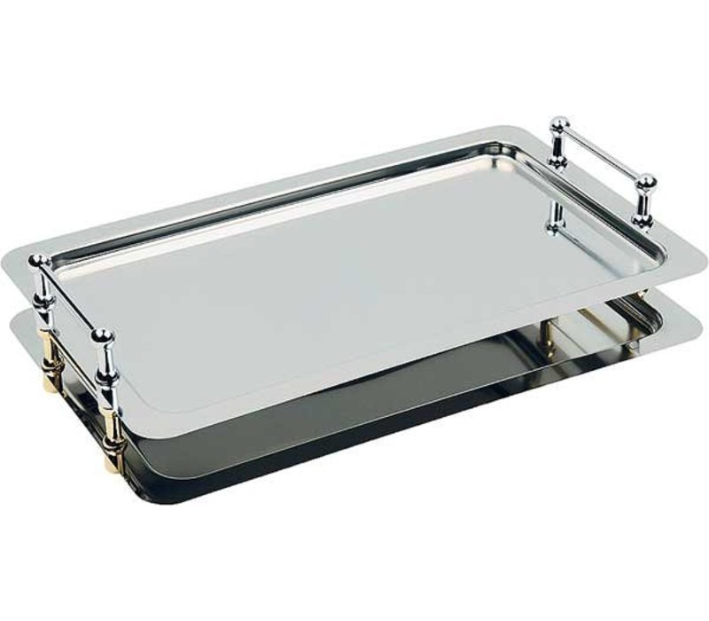 APS Scale Buffet-Star | Rectangle | Stainless steel | 1/1 GN 530x325mm