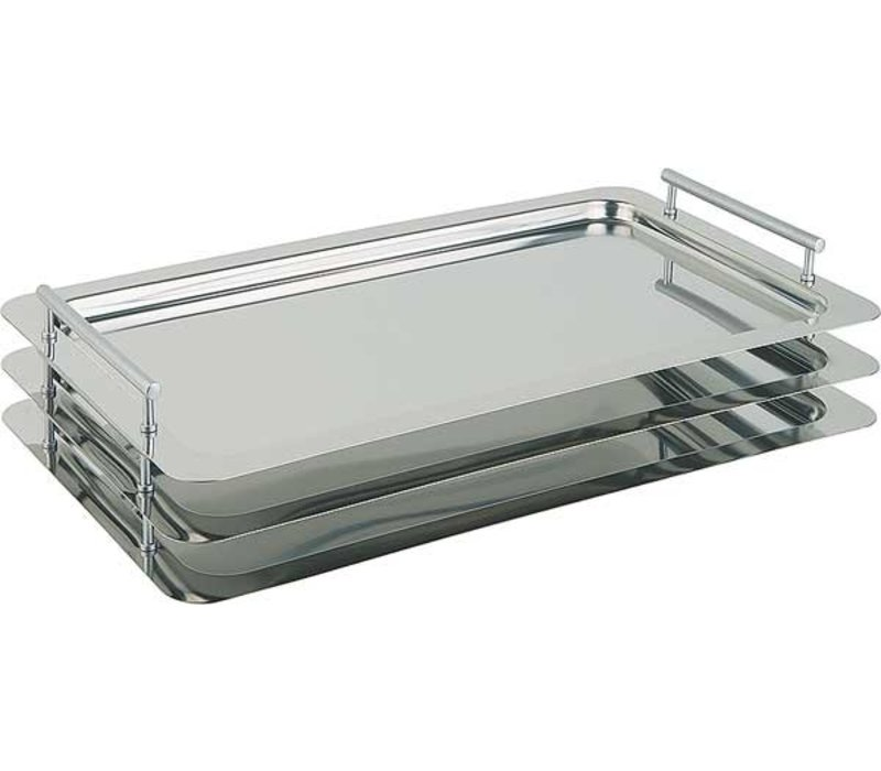 APS Scale Classic | Rectangle | Stainless steel | 530x325mm