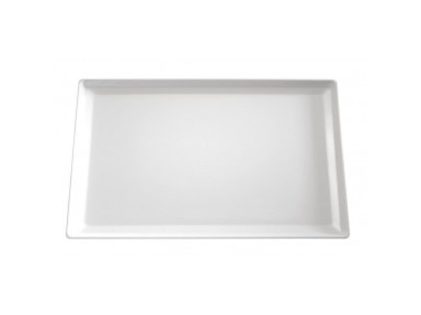 APS Scale-Float | Rechteckig | Melamin Schwarz | 530x325x (H) 30 mm