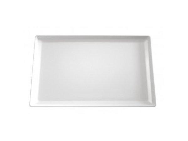 APS Schaal Float | Rechthoekig | Melamine Zwart | 530x325x(H)30mm