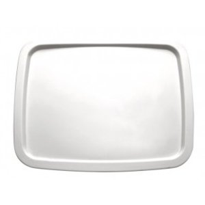 APS Presentation Scale | GN 1/2 | Melamine White | Dishwasher-safe | 325x265 mm