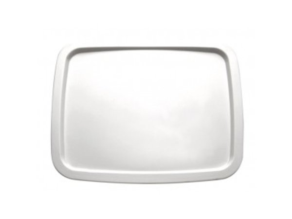 APS Presentation Scale | GN 1/2 | Melamine White | Dishwasher-safe | 325x265 mm